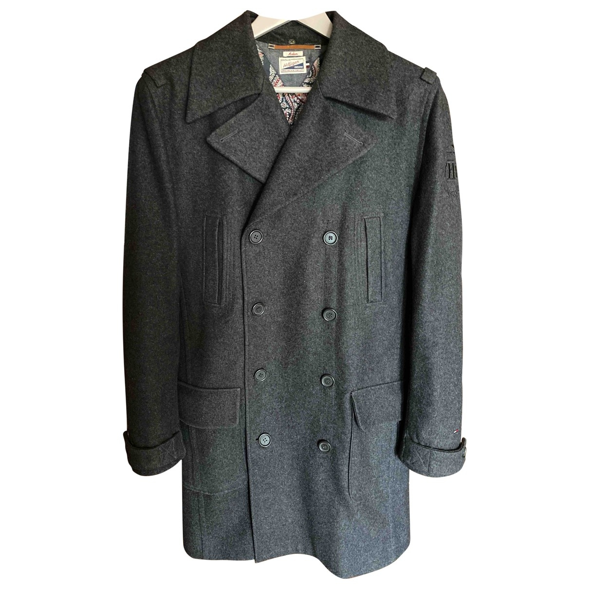 Tommy Hilfiger \N Grey Wool coat  for Men M International