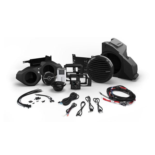 Rockford Fosgate RZR14-STAGE3 Stage 3 Front Speaker w/ Subwoofer Kit Polaris RZR Models 14-19