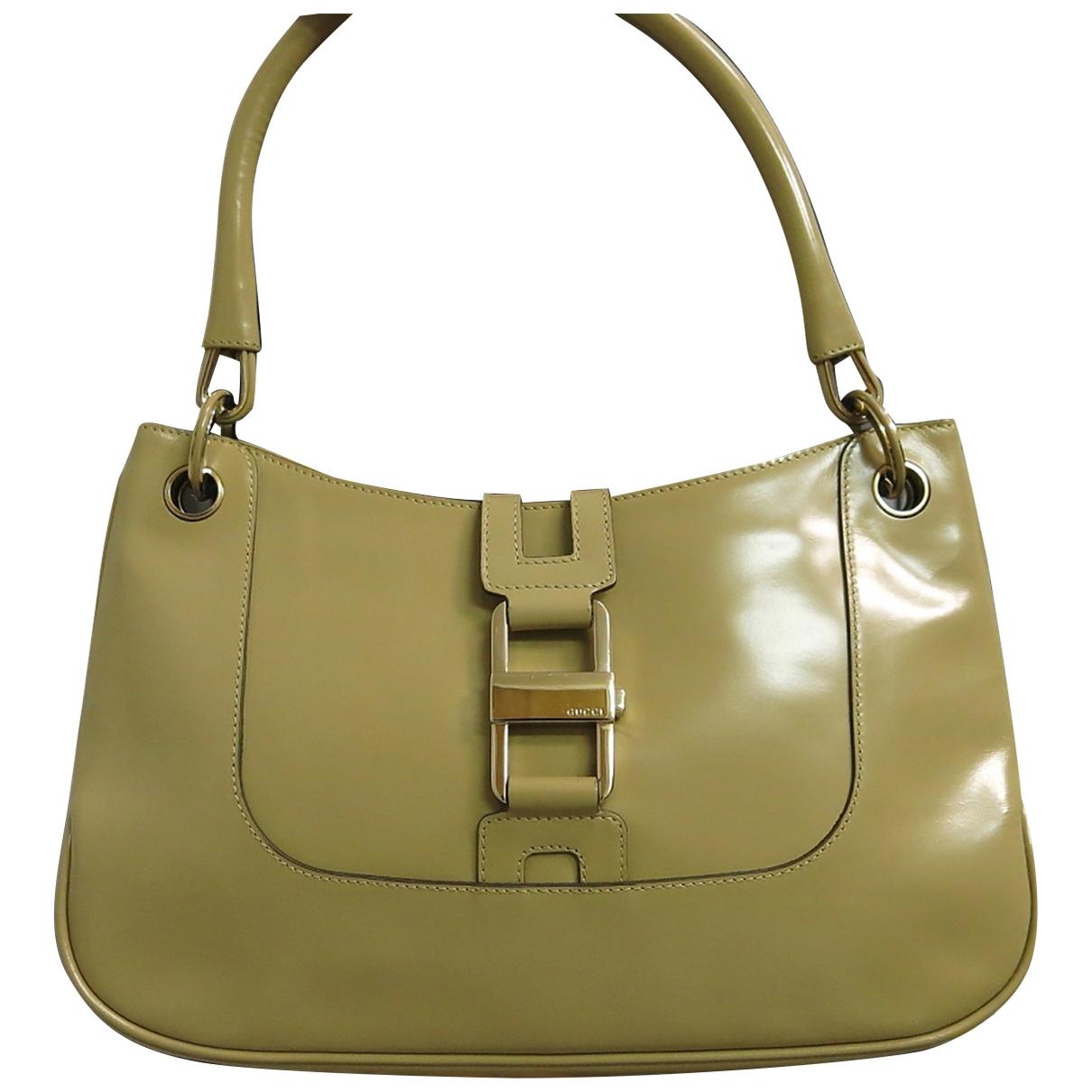 Gucci \N Green Leather handbag for Women \N