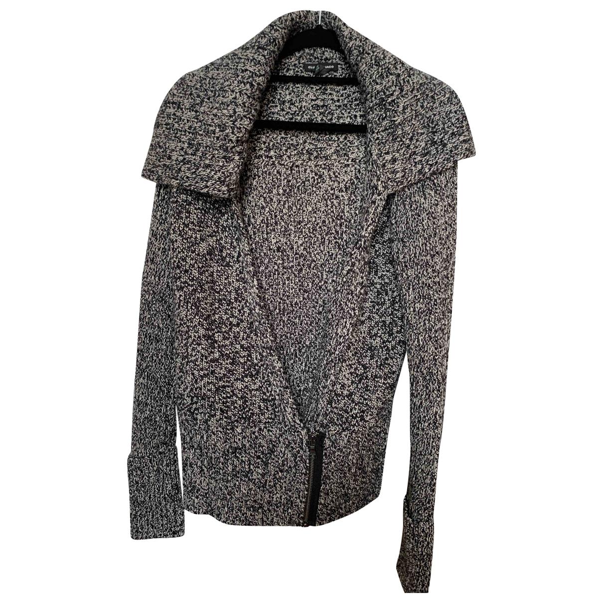 Club Monaco - Pull   pour femme en laine - gris
