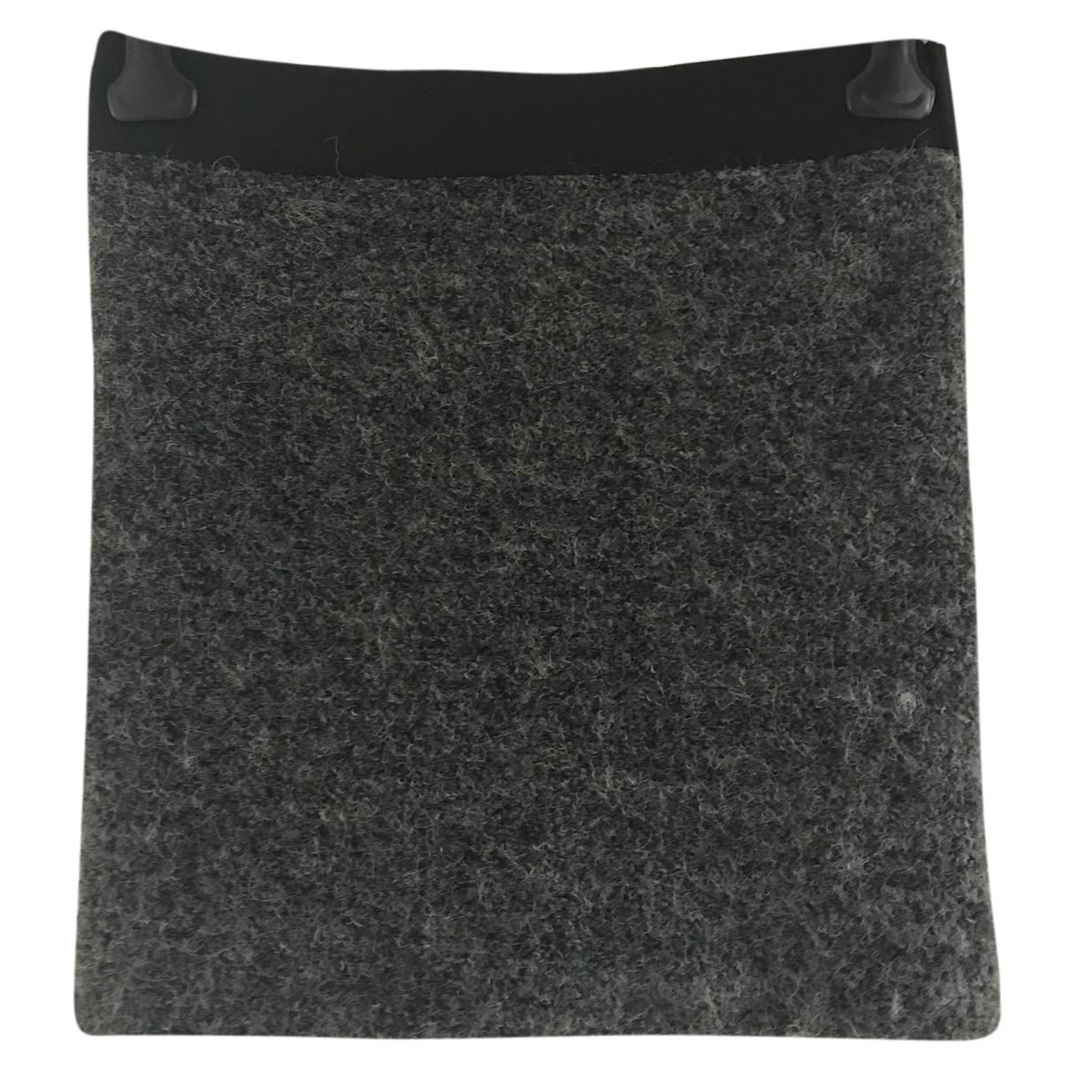 Iro N Grey Wool skirt for Women 38 FR