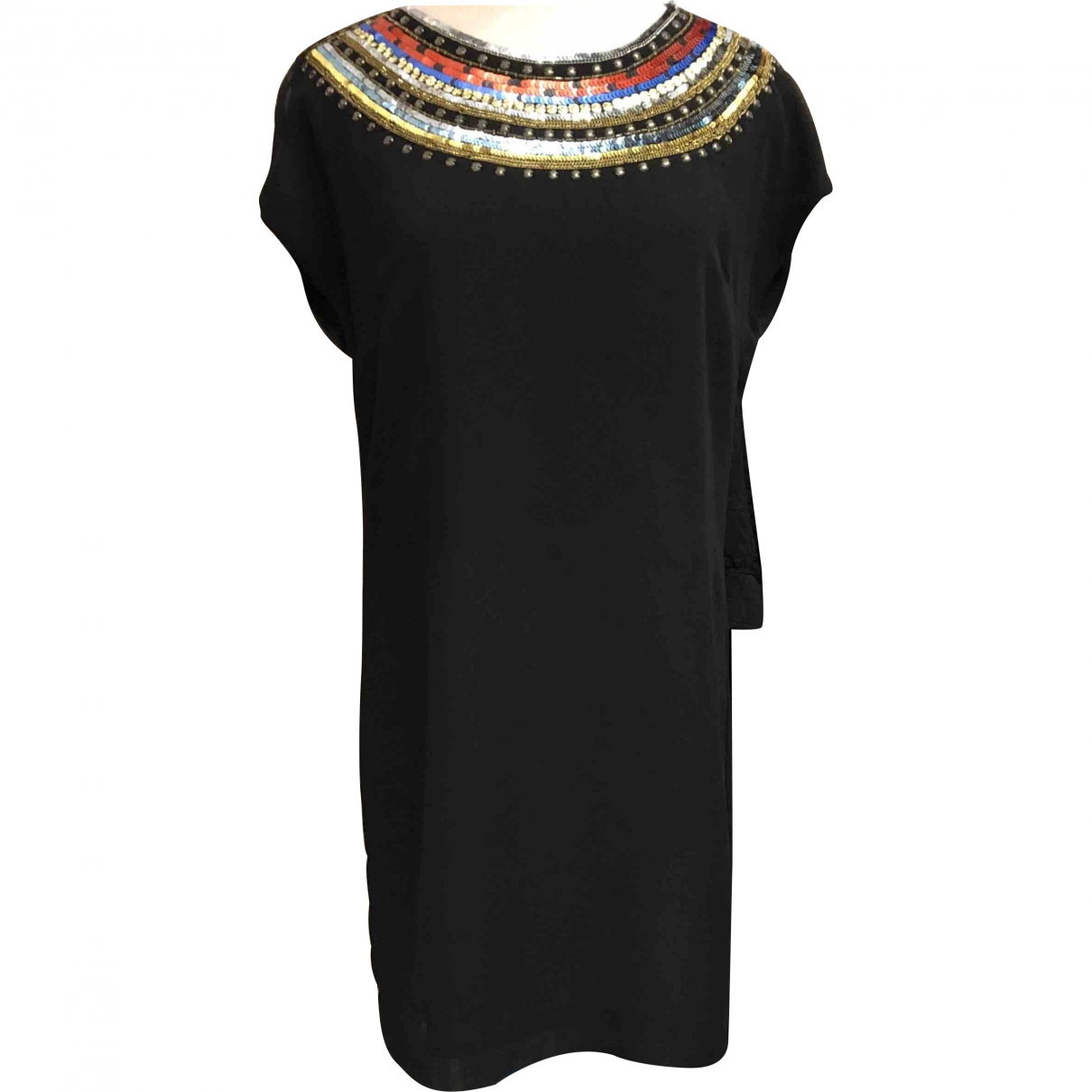 Matthew Williamson \N Black Glitter dress for Women 40 IT