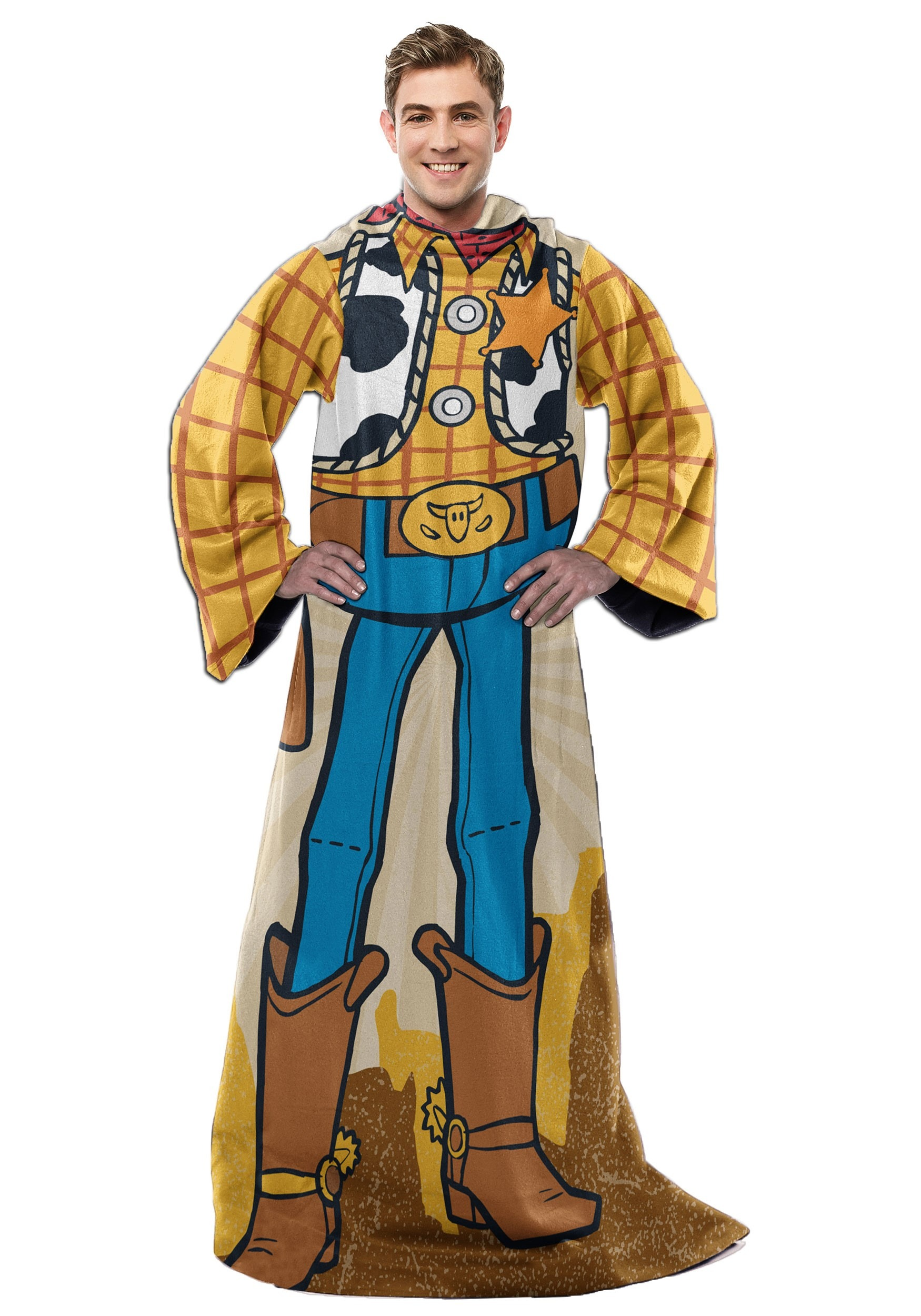 Adult Toy Story Woody Comfy Throw