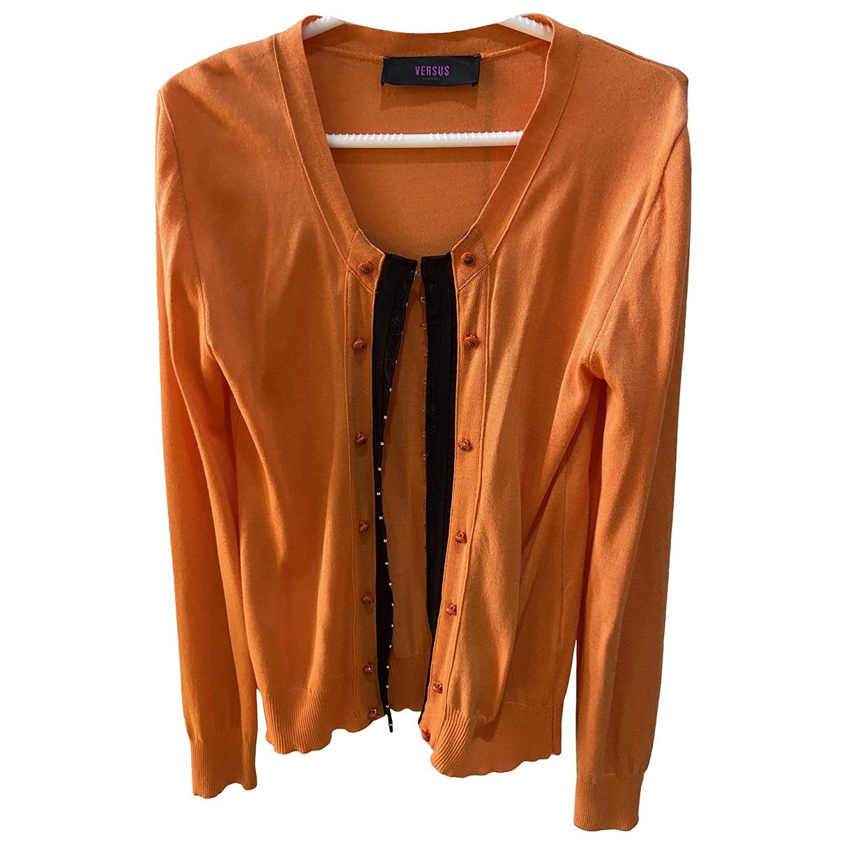 Versus - Veste   pour femme en laine - orange