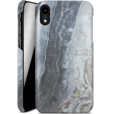 Apple iPhone XR Smartphone Huelle - Desaturated Marble von Emanuela Carratoni
