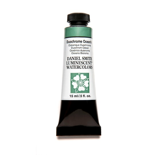 Daniel Smith Extra Fine™ Watercolor, 15 ml Paint in Duochrome Oceanic | Michaels®