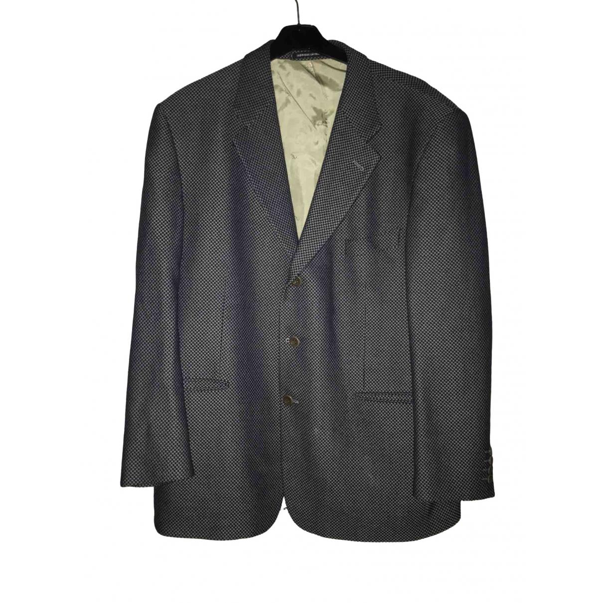 Yves Saint Laurent \N Grey Cotton jacket  for Men L International