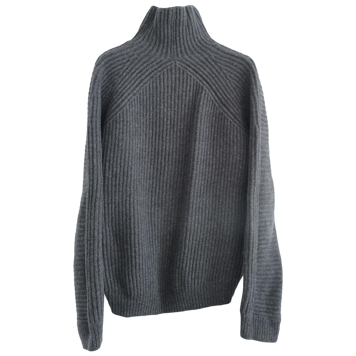 Acne Studios \N Pullover.Westen.Sweatshirts  in  Grau Wolle