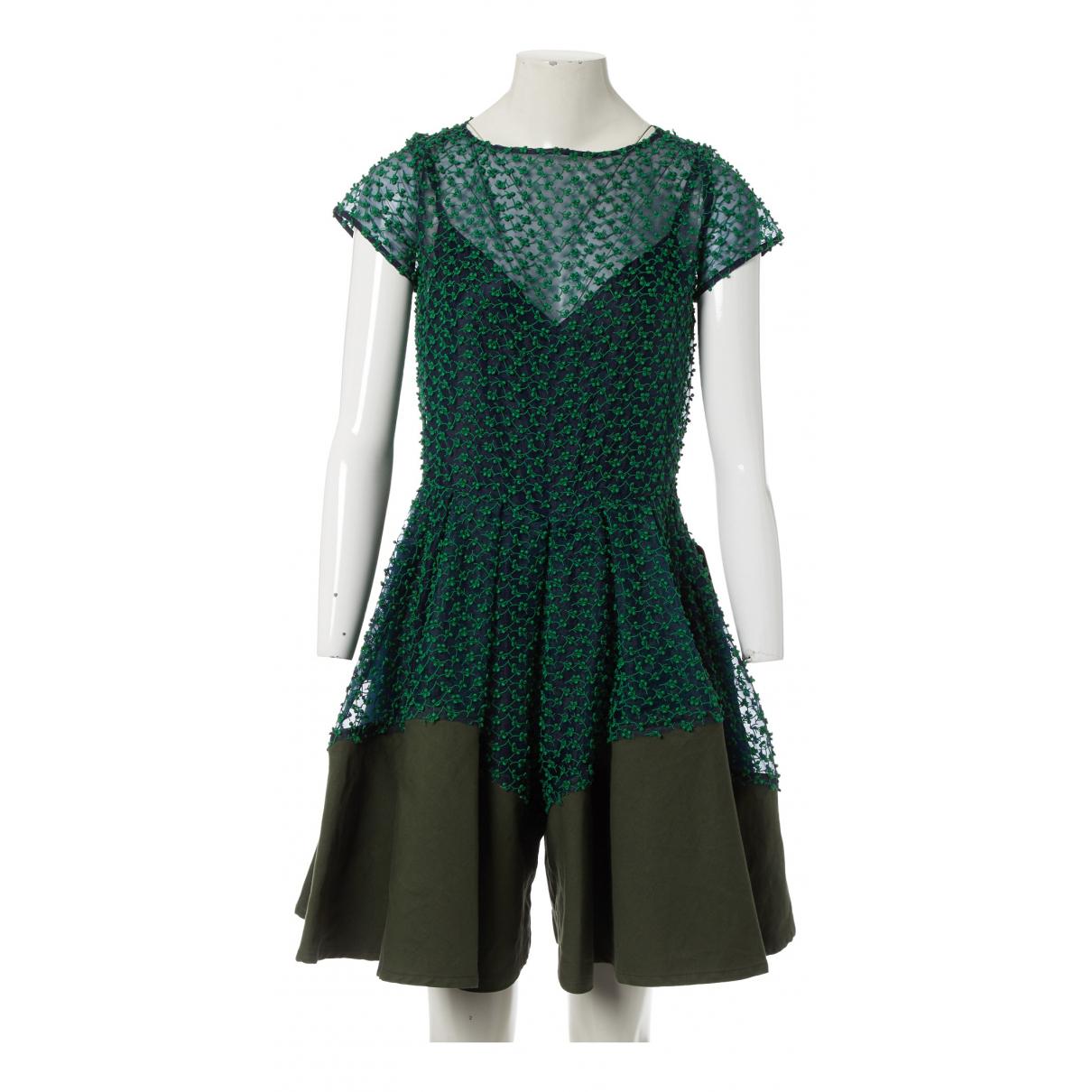 Sacai - Combinaison   pour femme - vert