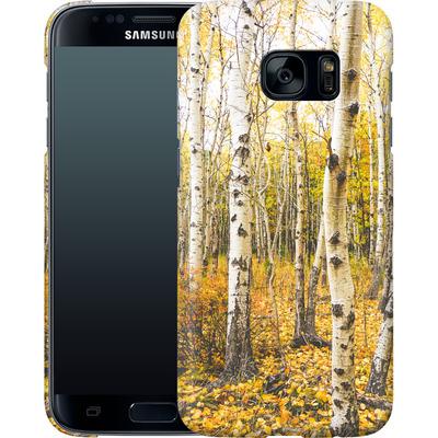 Samsung Galaxy S7 Smartphone Huelle - Fallen Leaves  von Joy StClaire