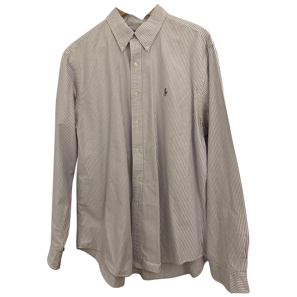 Ralph Lauren - Chemises   pour homme en coton - blanc