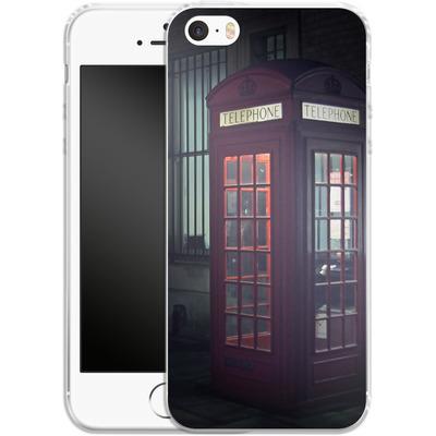 Apple iPhone 5s Silikon Handyhuelle - London Calling 2 von Ronya Galka