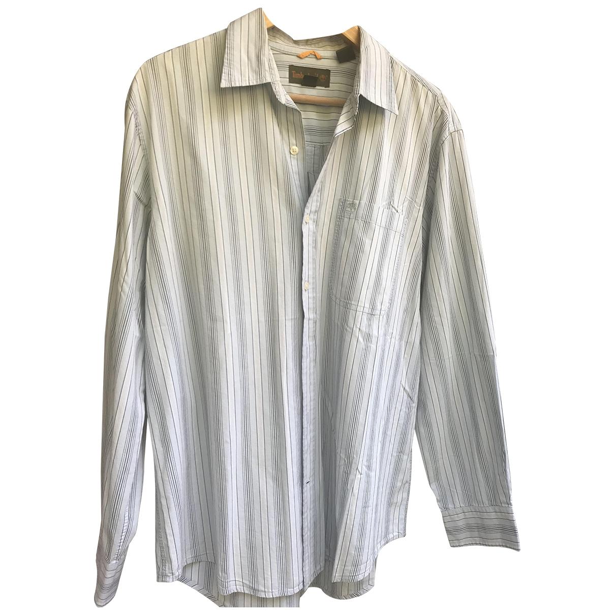 Timberland \N Blue Cotton Shirts for Men L International