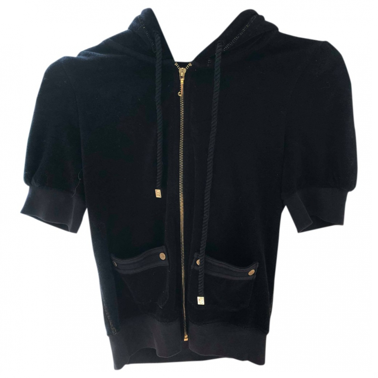 Juicy Couture \N Pullover in  Schwarz Synthetik