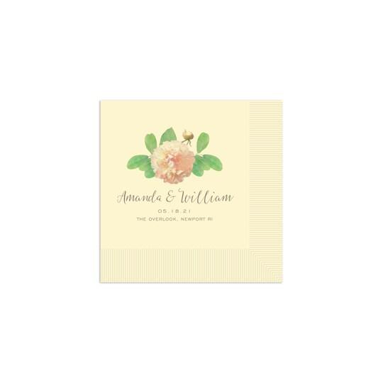 Gartner Studios® Personalized Floral Wedding Cocktail Napkins   Michaels®