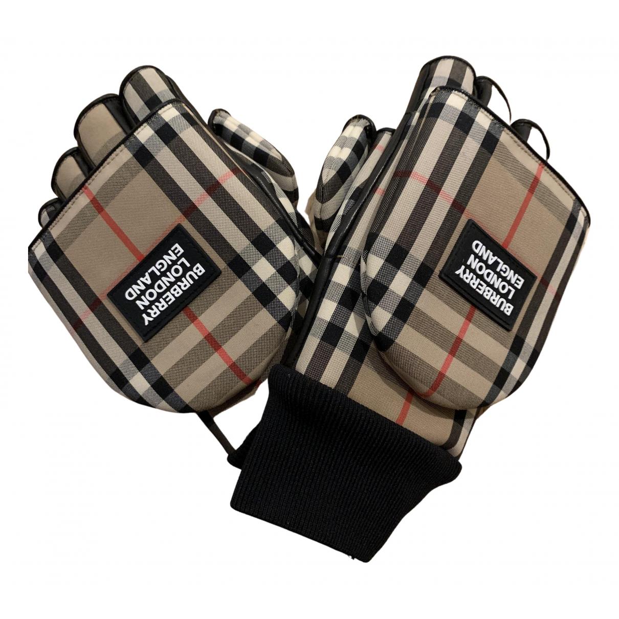 Burberry N Brown Leather Gloves for Men S International