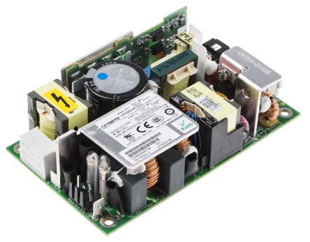 Artesyn Embedded Technologies , 125W Embedded Switch Mode Power Supply SMPS, 12V dc, Open Frame, Medical Approved