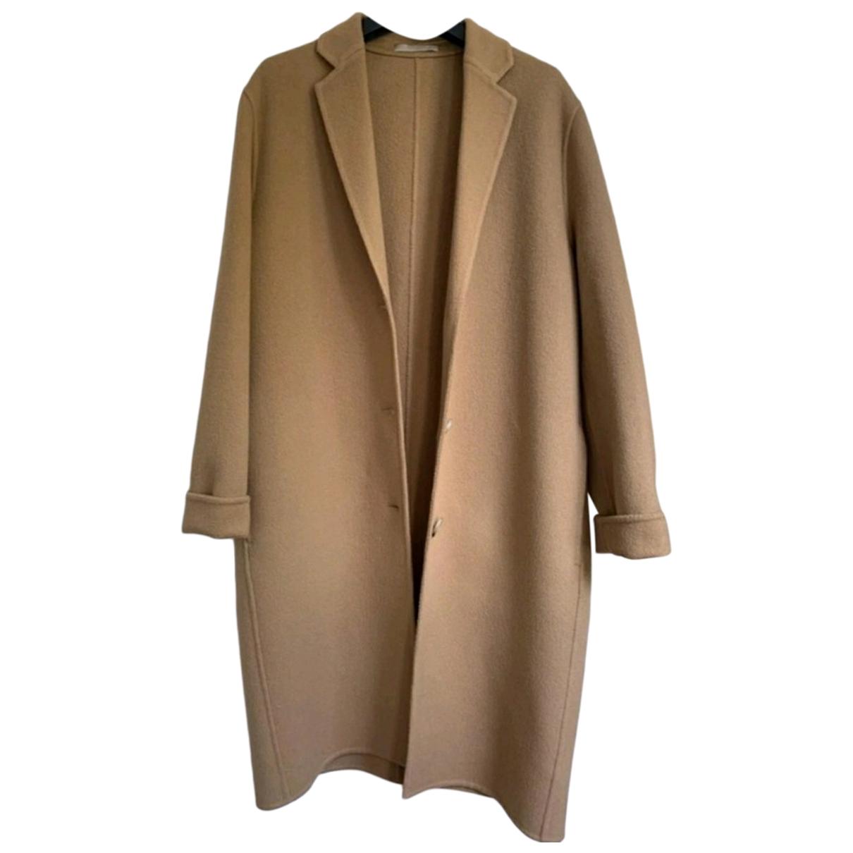 Acne Studios N Camel Wool coat for Women 32 FR