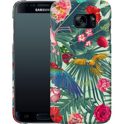 Samsung Galaxy S7 Smartphone Huelle - Tropic Fun von Mark Ashkenazi