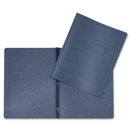 Hilroy DUO-TANG pr esentation cover, lettre taille, 1 couvercle par paquet - bleu marine 222786