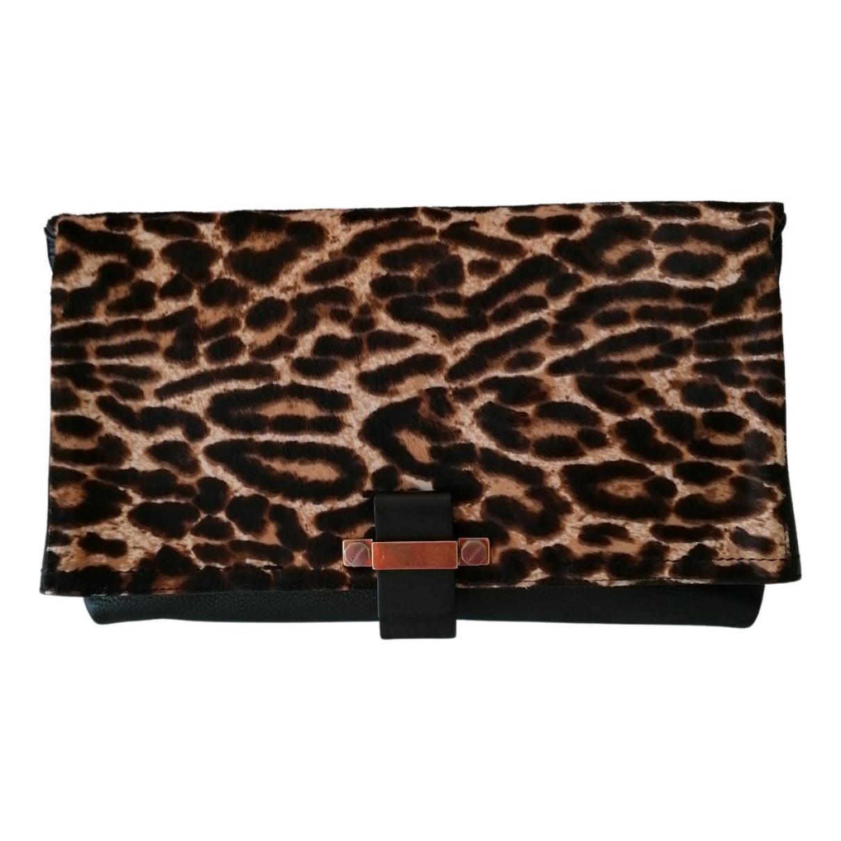 Lanvin N Black Leather Clutch bag for Women N