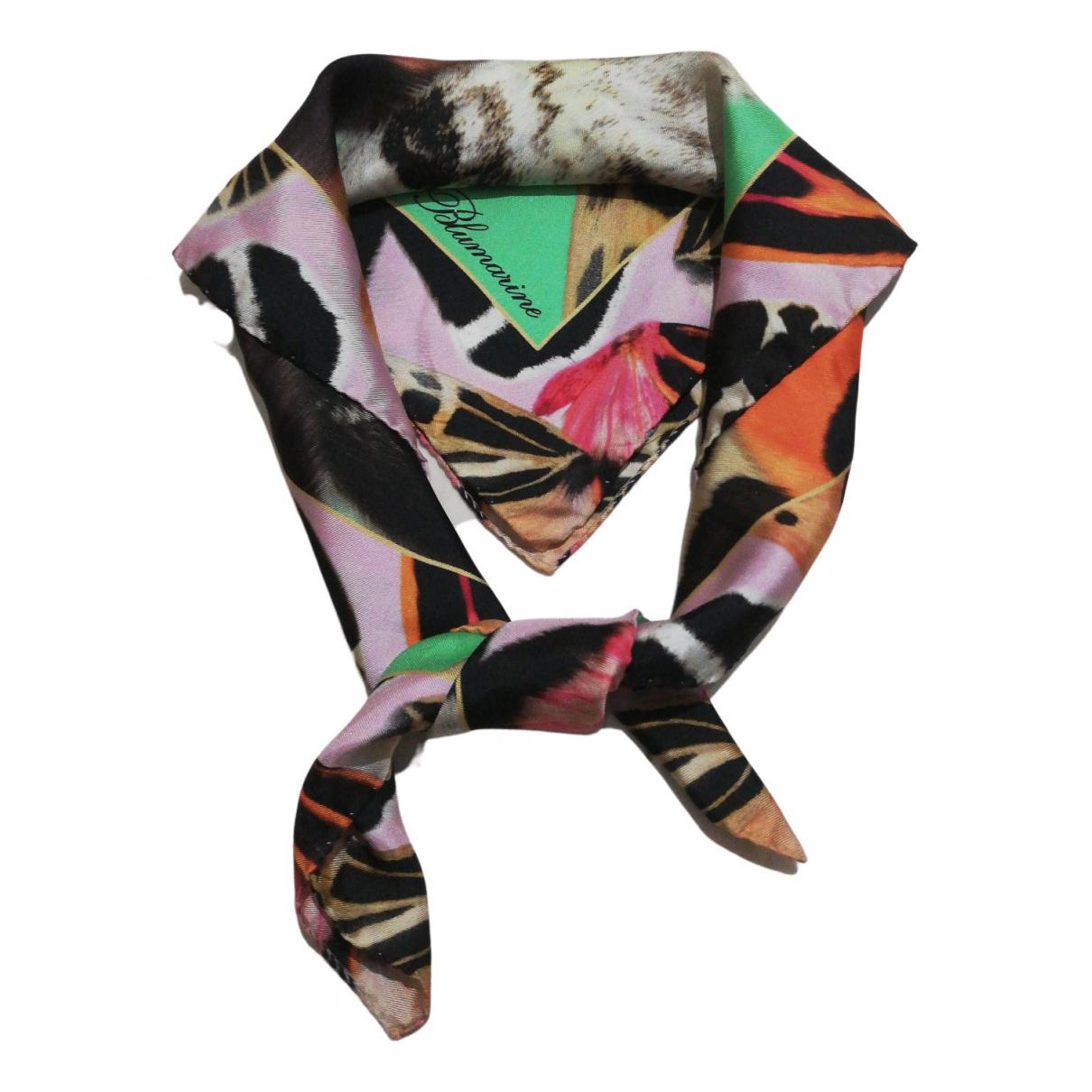 Blumarine N Multicolour Silk scarf for Women N