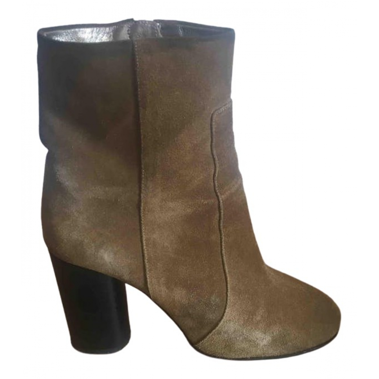 Isabel Marant Garett Camel Suede Ankle boots for Women 38 EU