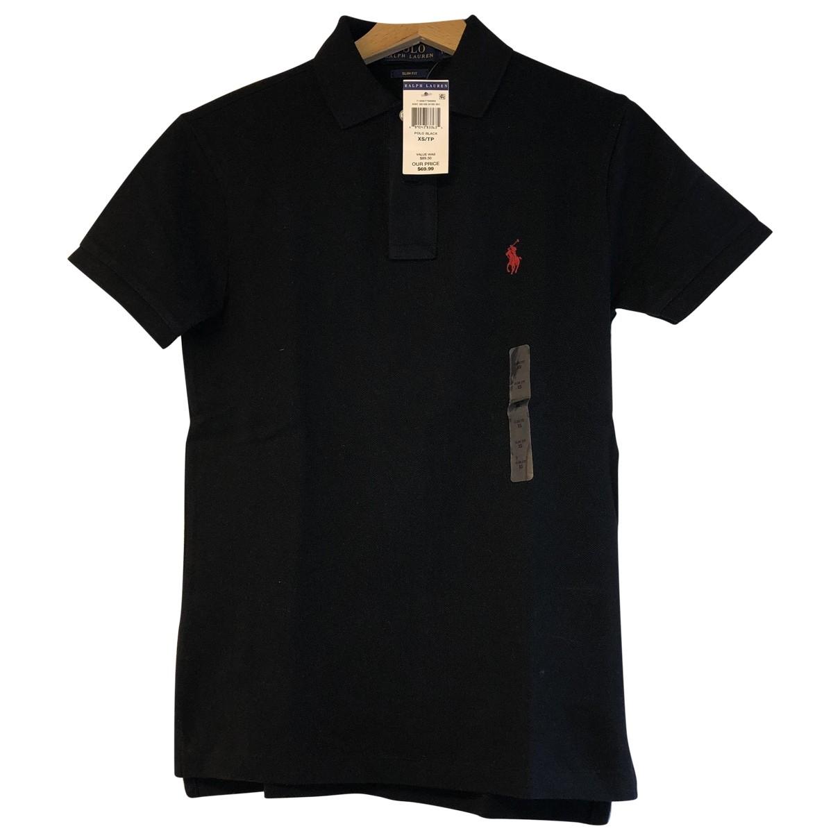 Polo en Algodon Negro Polo Ralph Lauren