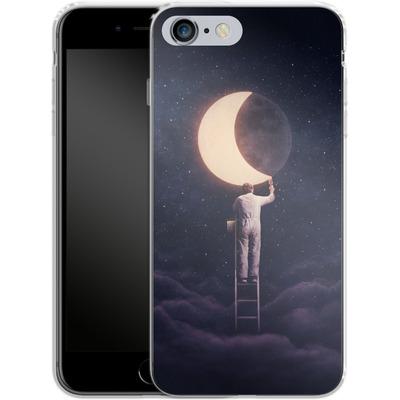 Apple iPhone 6s Plus Silikon Handyhuelle - Carpe Noctem Wide von Enkel Dika
