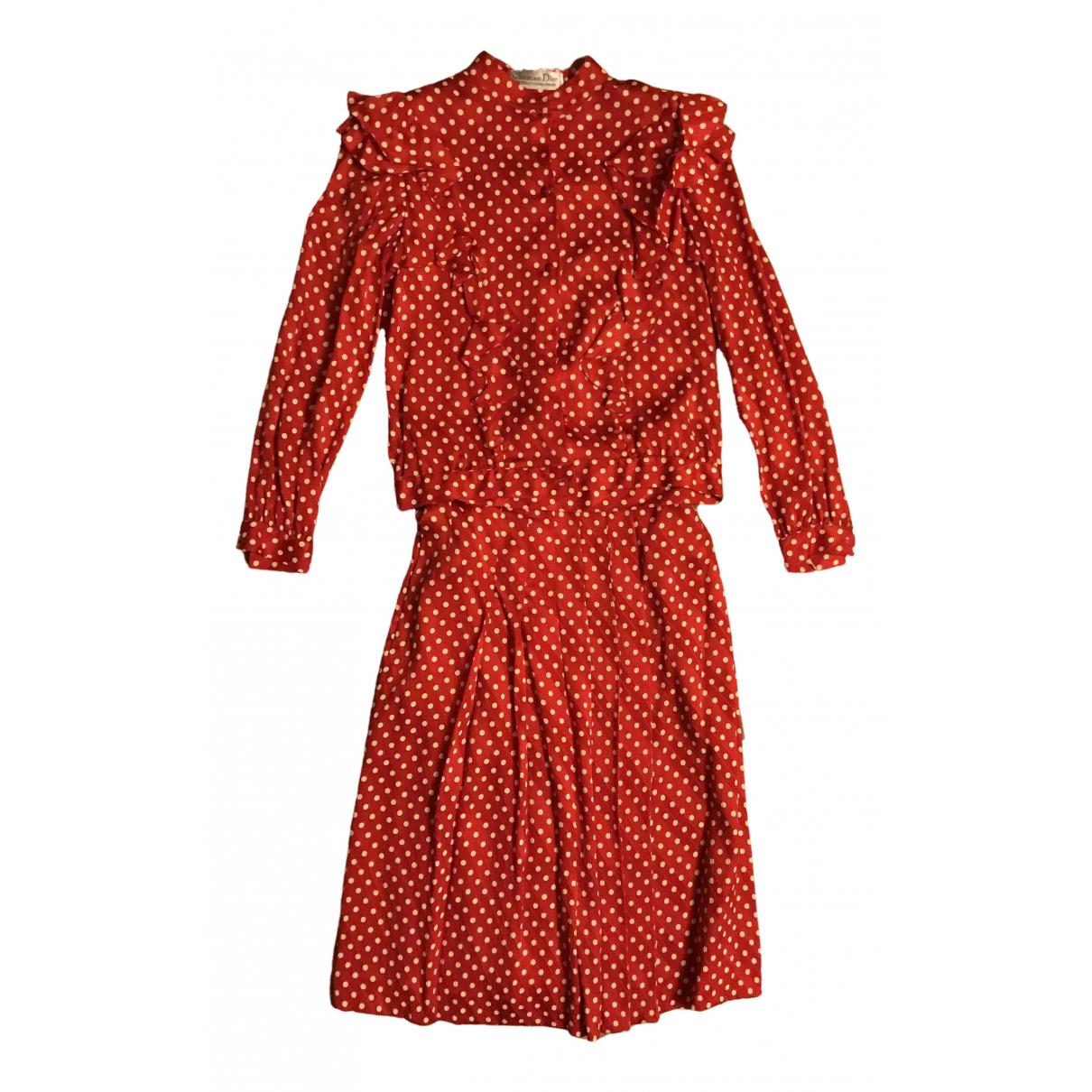 Dior \N Pink Silk dress for Women 40 IT