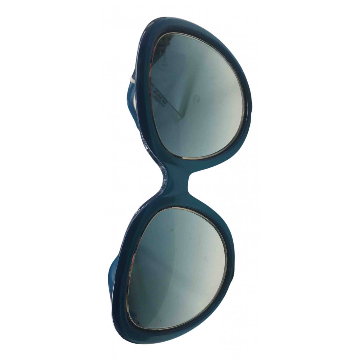Roberto Cavalli - Lunettes   pour femme - bleu