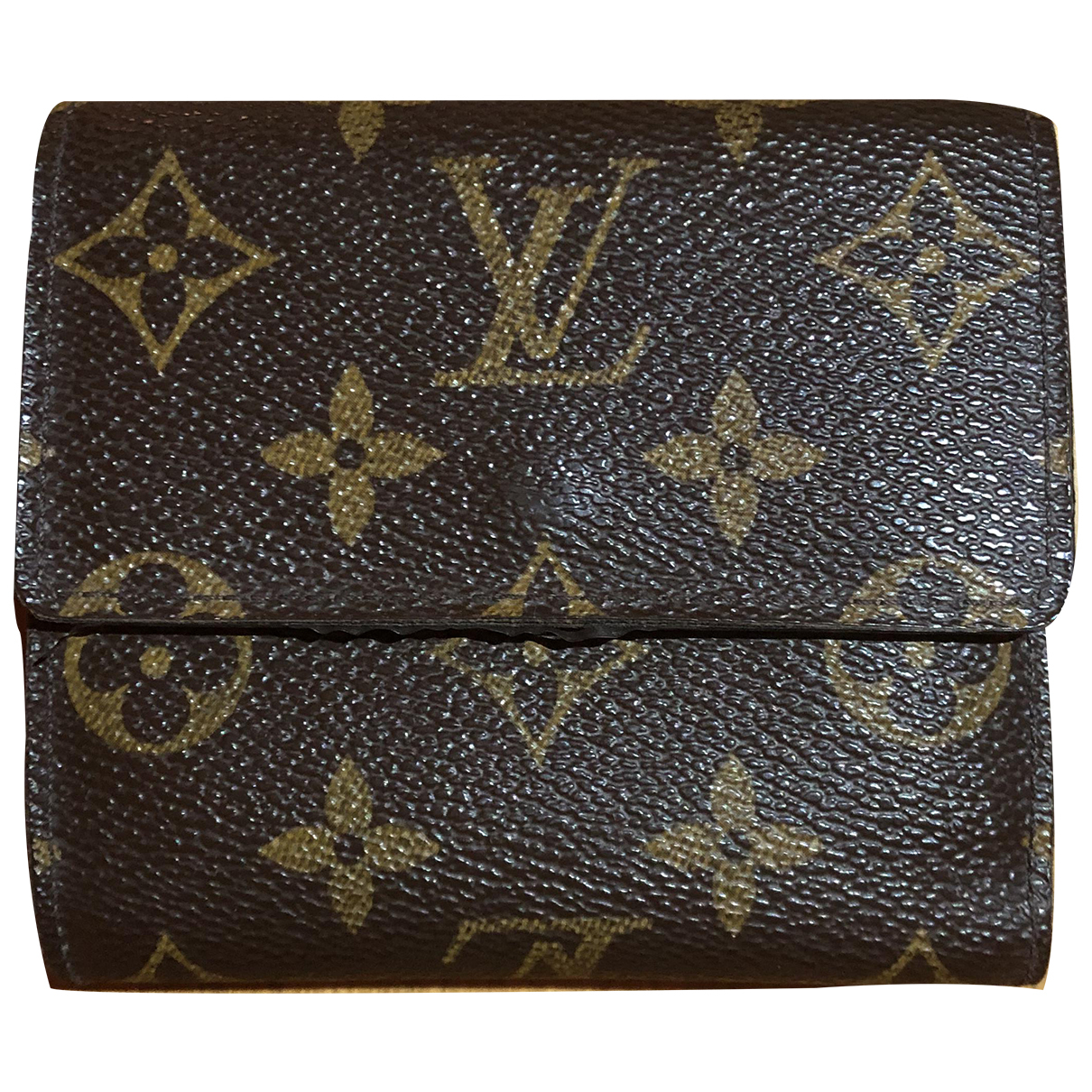 Louis Vuitton Victorine Brown Leather wallet for Women N