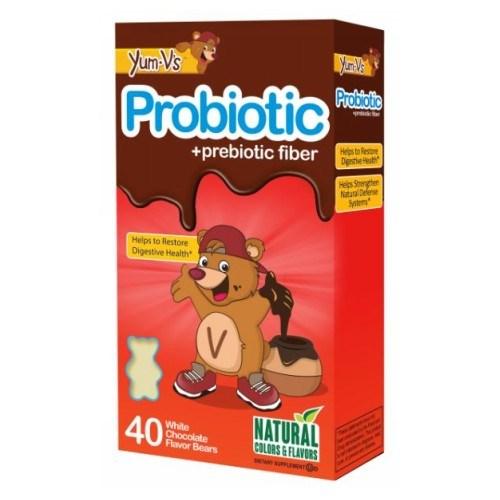 Probiotic plus Probiotic Fiber Vanilla 40 Bears by Dulce Probiotics
