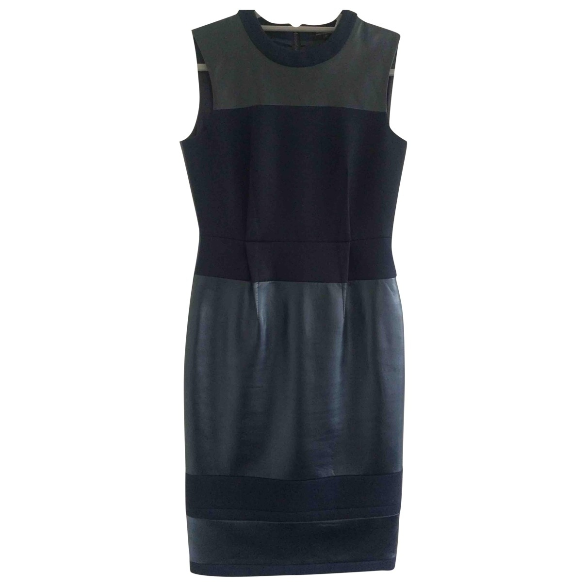 Jaeger \N Kleid in  Schwarz Leder