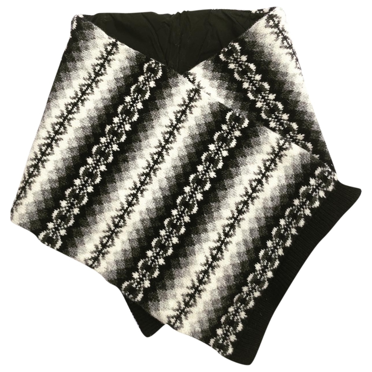 Prada \N Schal in  Schwarz Wolle