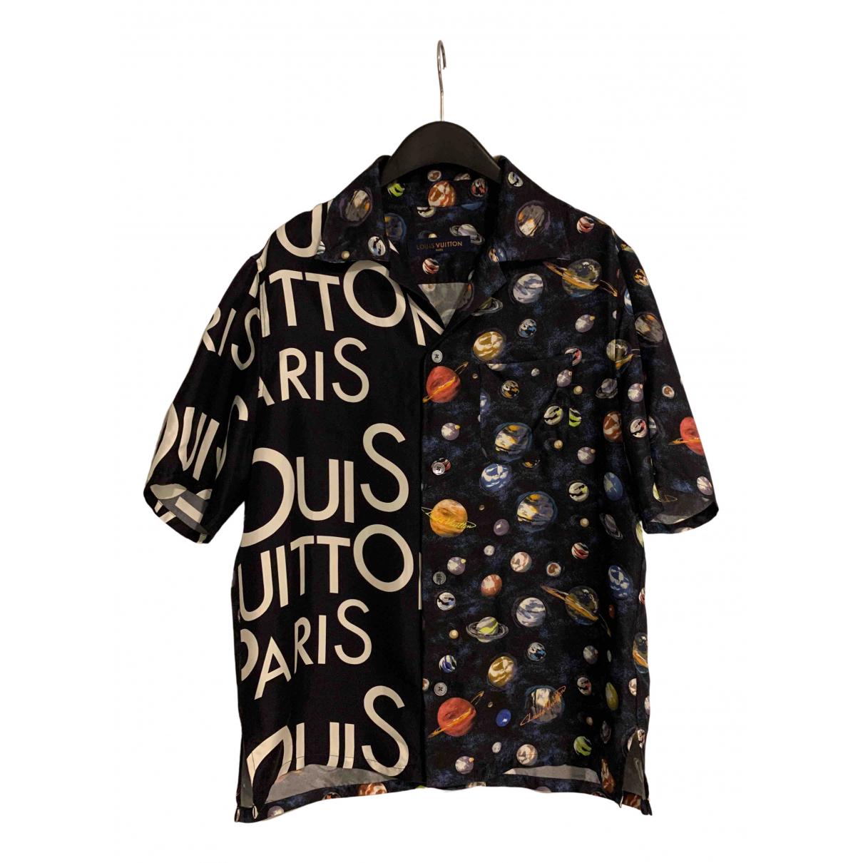 Louis Vuitton - Chemises   pour homme en soie - multicolore