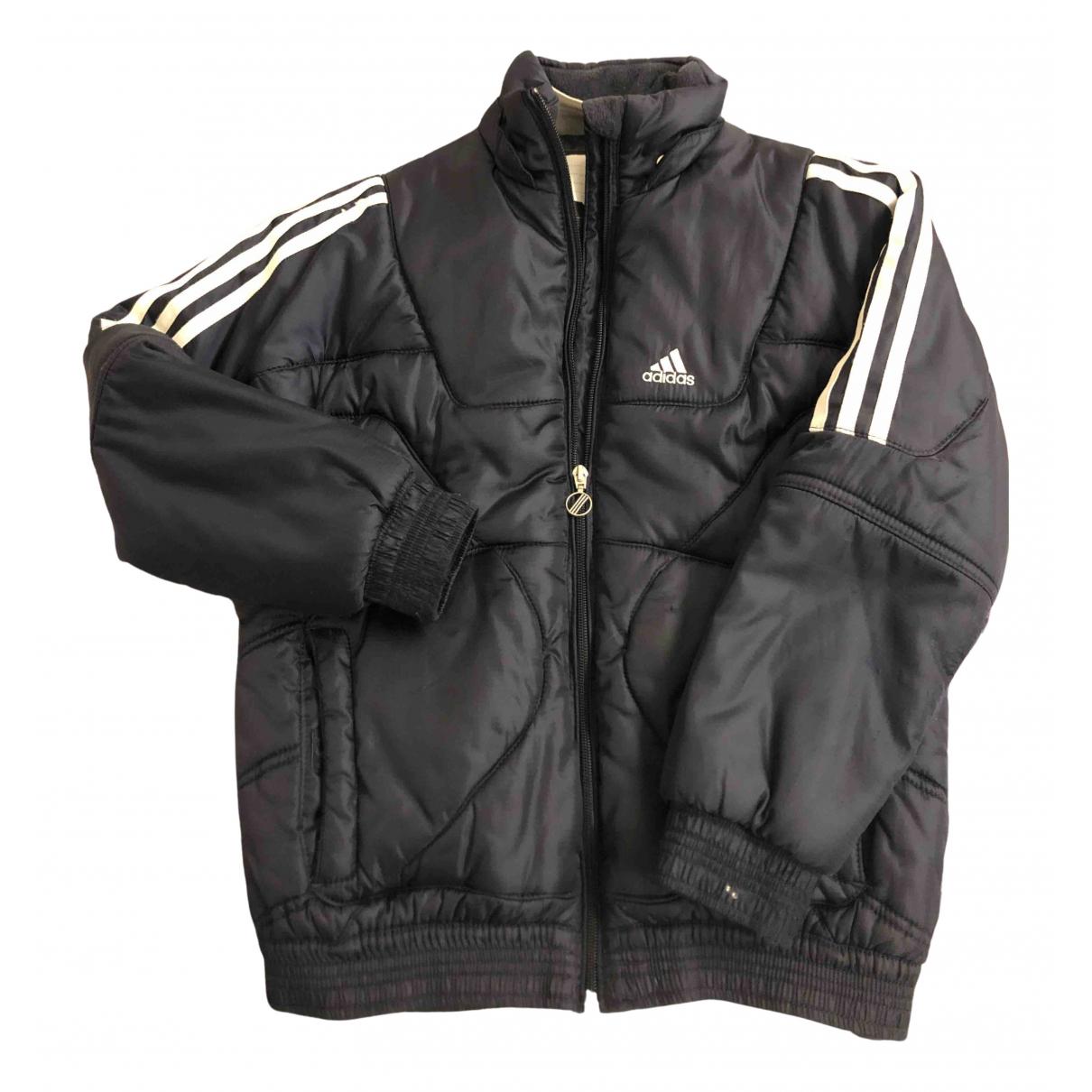 Adidas \N Jacke, Maentel in  Blau Baumwolle