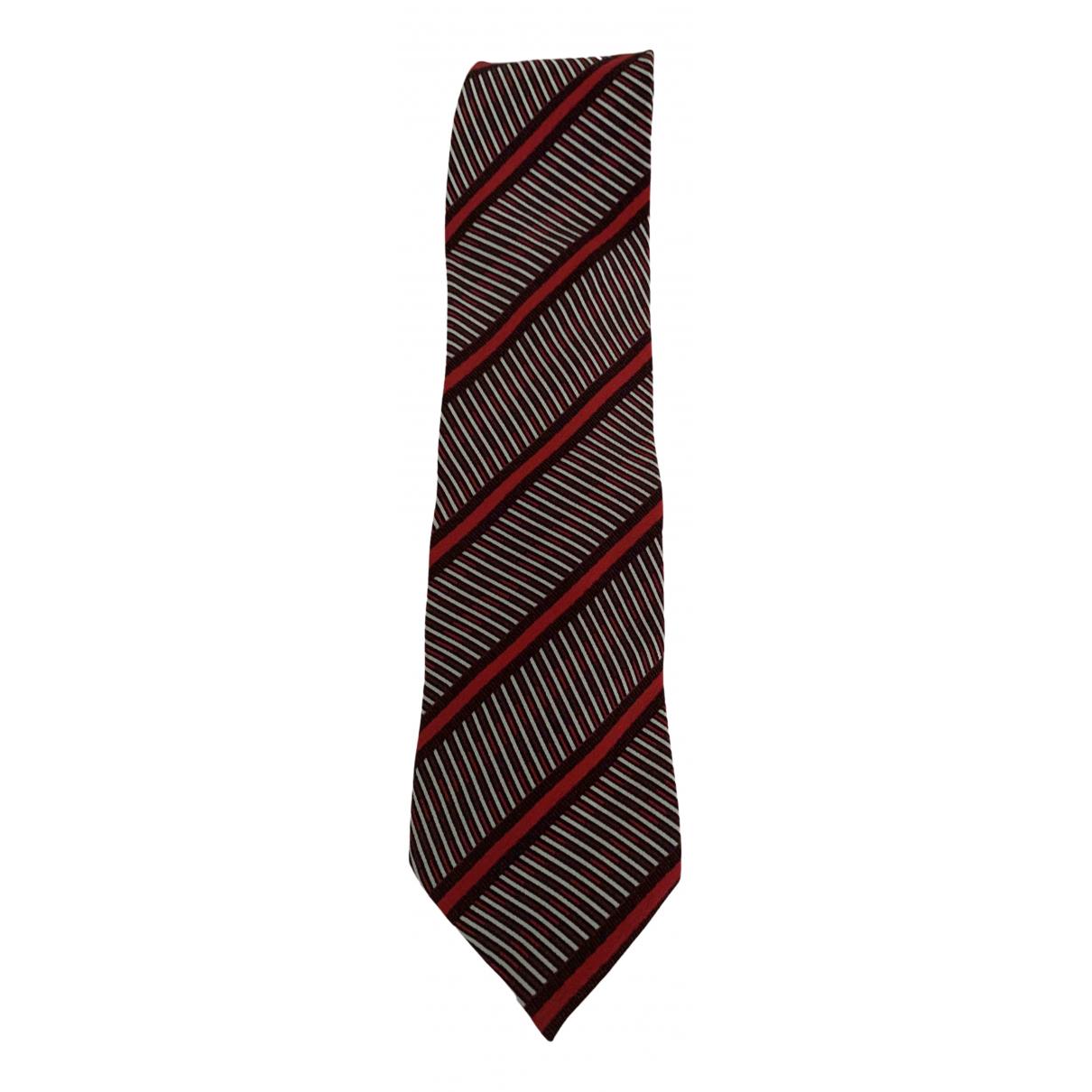 Armani Collezioni \N Red Silk Ties for Men \N