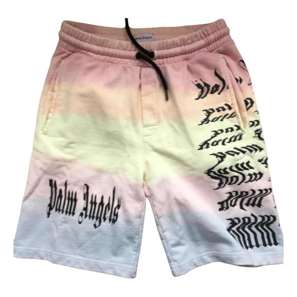 Palm Angels N Navy Cotton Shorts for Men M International