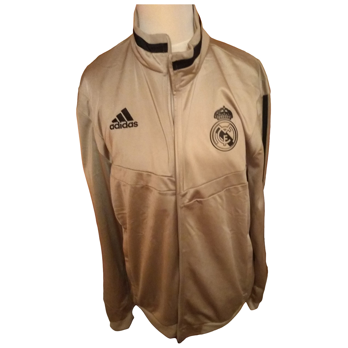 Adidas \N Jacke in  Gold Polyester