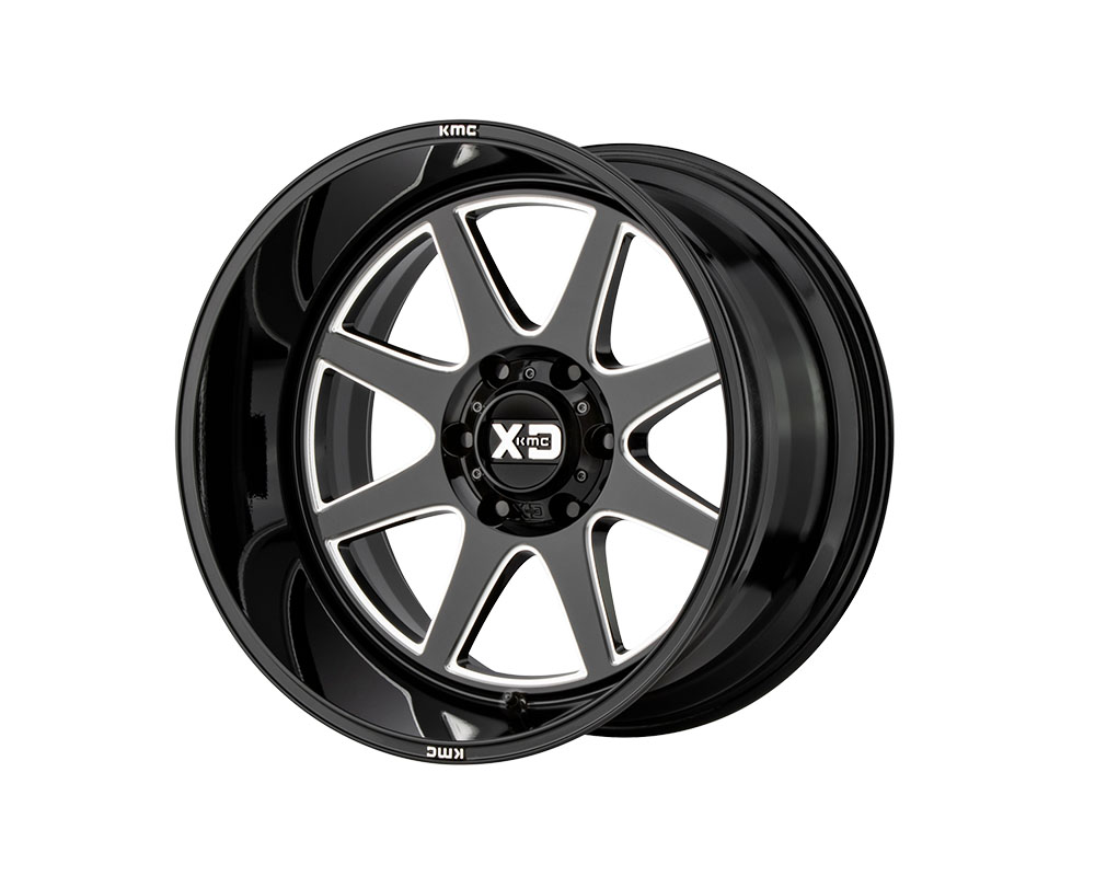XD Series XD84421280344N XD844 Pike Wheel 20x12 8x8x165.1 -44mm Gloss Black Milled