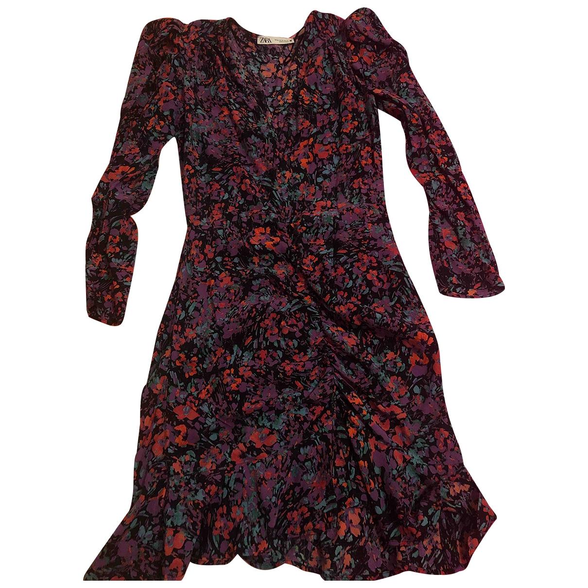 Zara - Robe   pour femme - violet