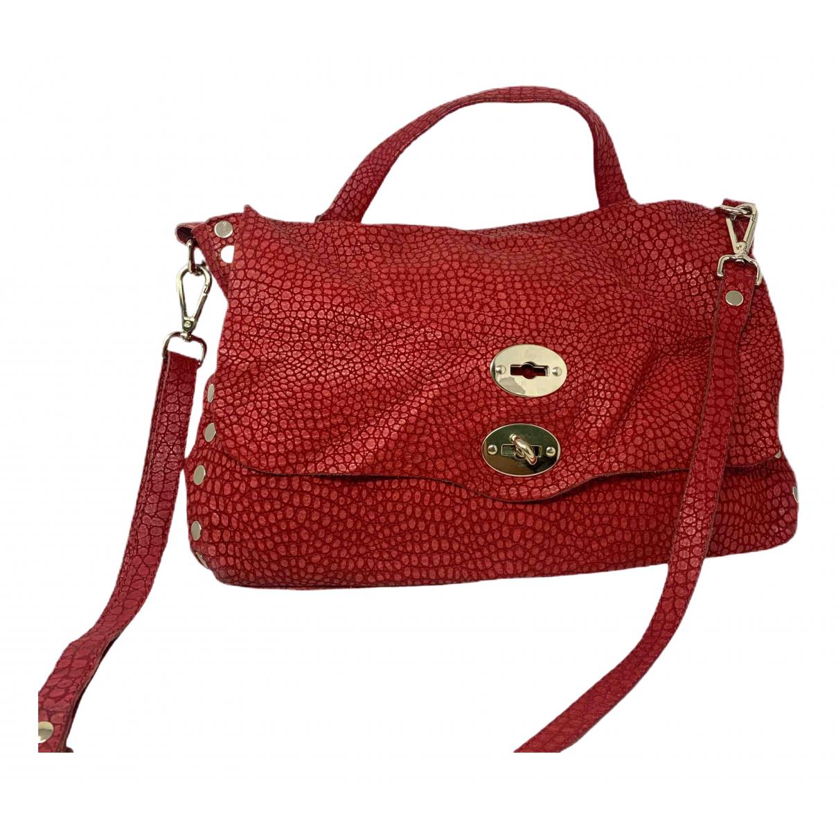 Zanellato \N Handtasche in  Rot Leder
