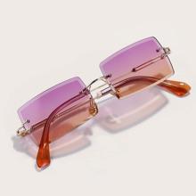 Gafas de sol con montura rectangulo