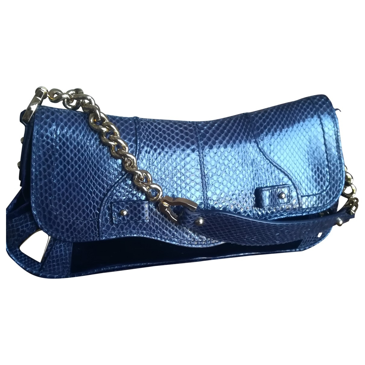 Dolce & Gabbana \N Handtasche in  Blau Echse