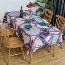 Tischdecke mit Grafik Muster