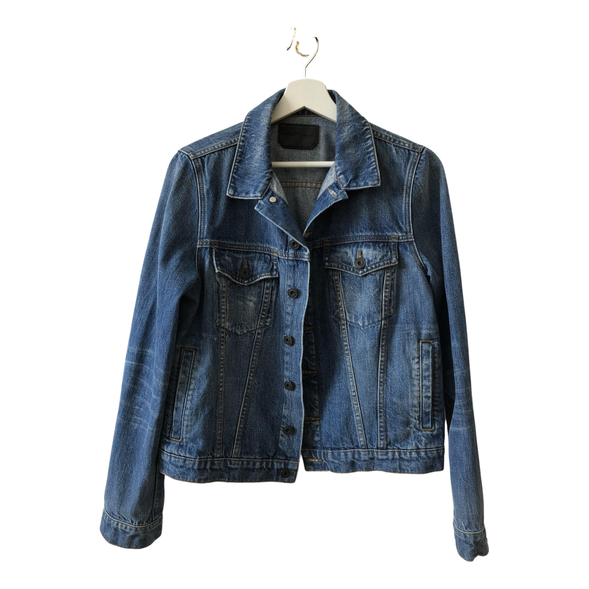 Proenza Schouler \N Jacke in  Blau Denim - Jeans