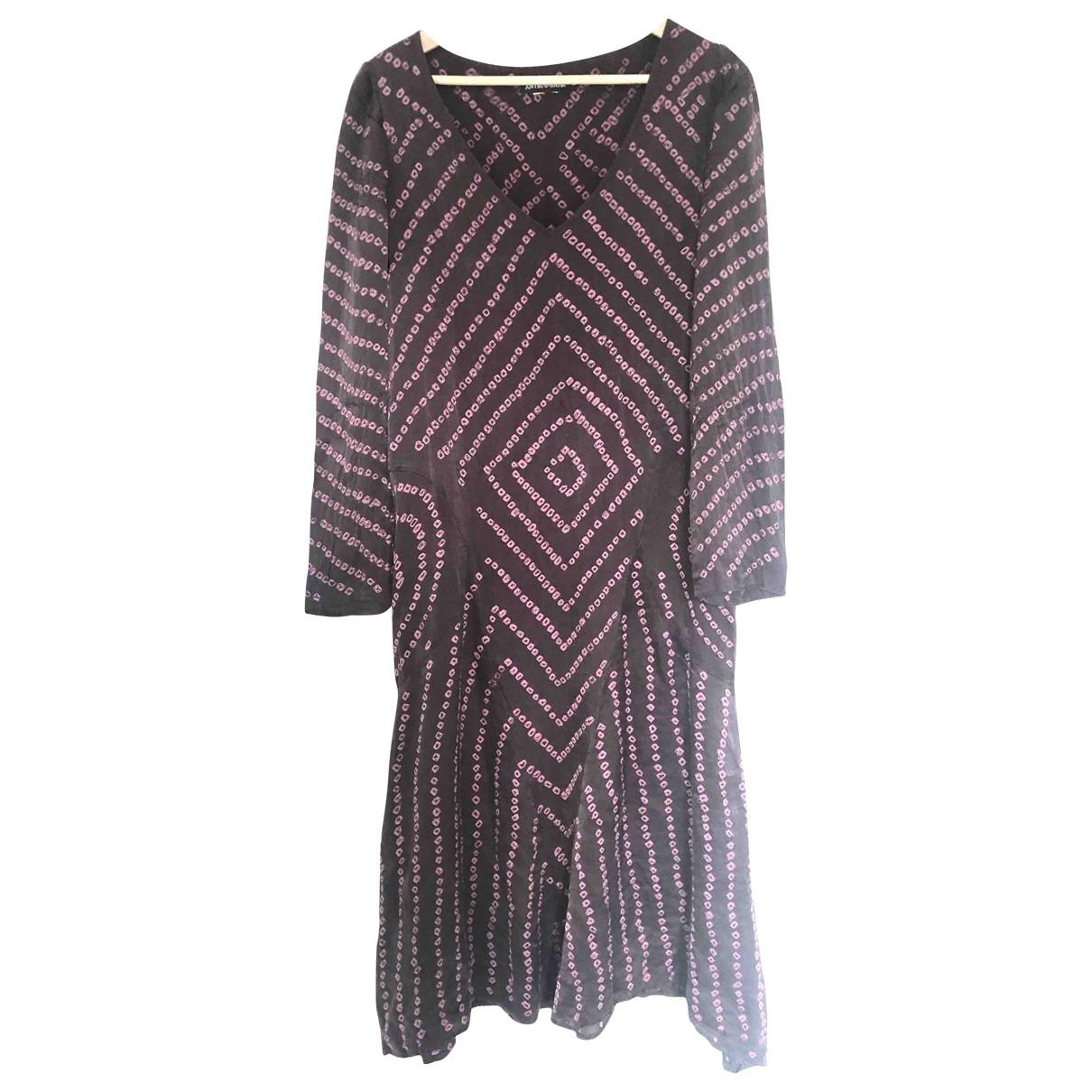 Antik Batik \N Purple Silk dress for Women M International