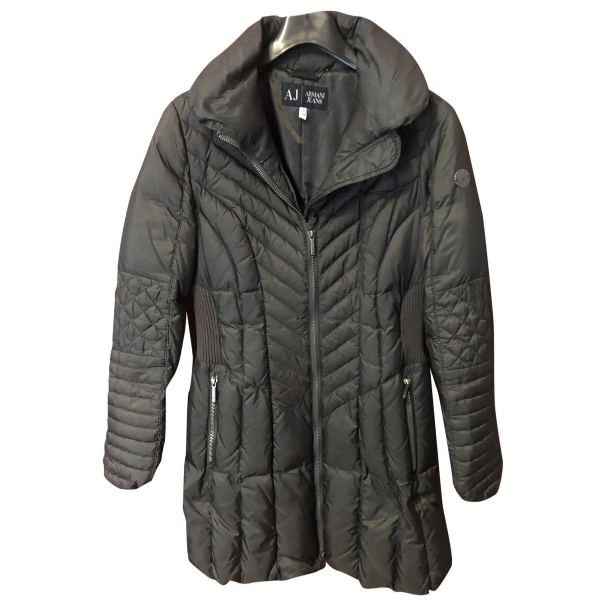 Armani Jeans \N Jacke in  Grau Polyester