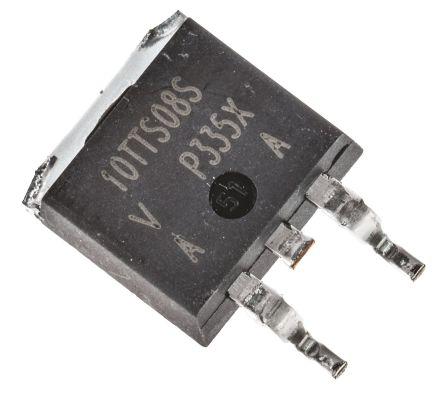 Vishay , VS-10TTS08S-M3, Thyristor, 800V 6.5A, 15mA 3-Pin, D2PAK (TO-263) (5)